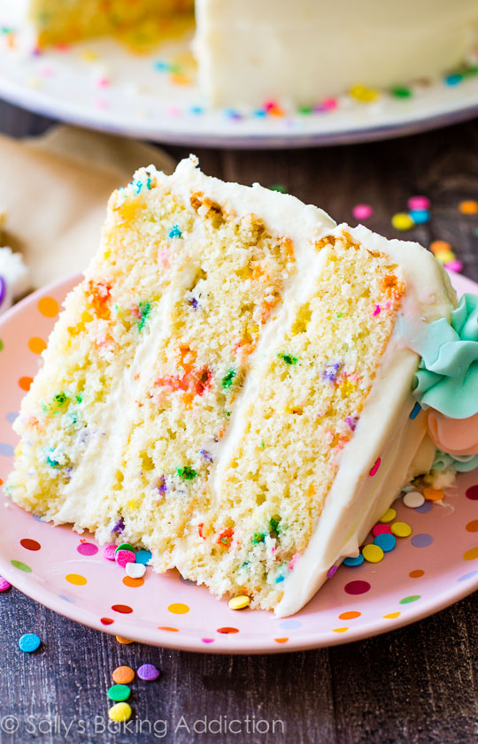 Vanilla Cake Recipe From Scratch Sallys Baking Addiction