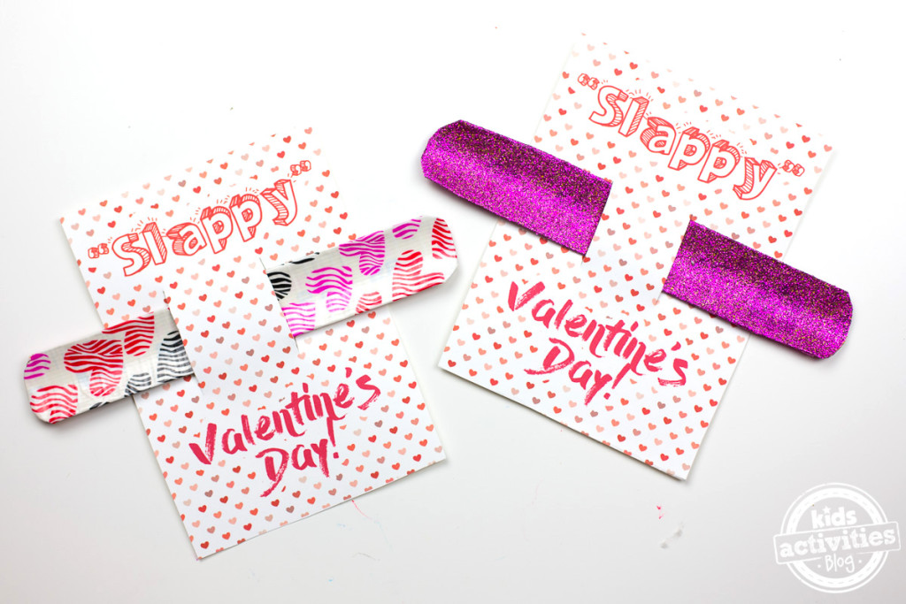Slap Bracelet Valentine Cards | Skip To My Lou