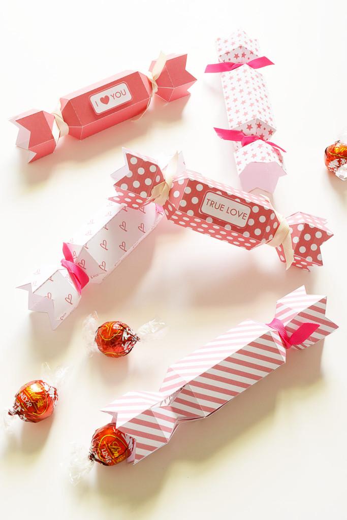 Valentine's Crackers - Free Printable