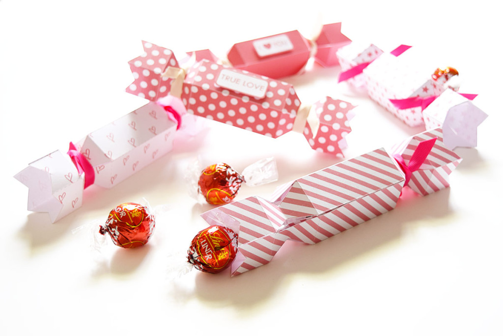 Valentine's Crackers - Free Printable