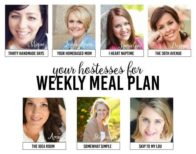 Weekly Meal Plan - Delicious recipes for the entire week!