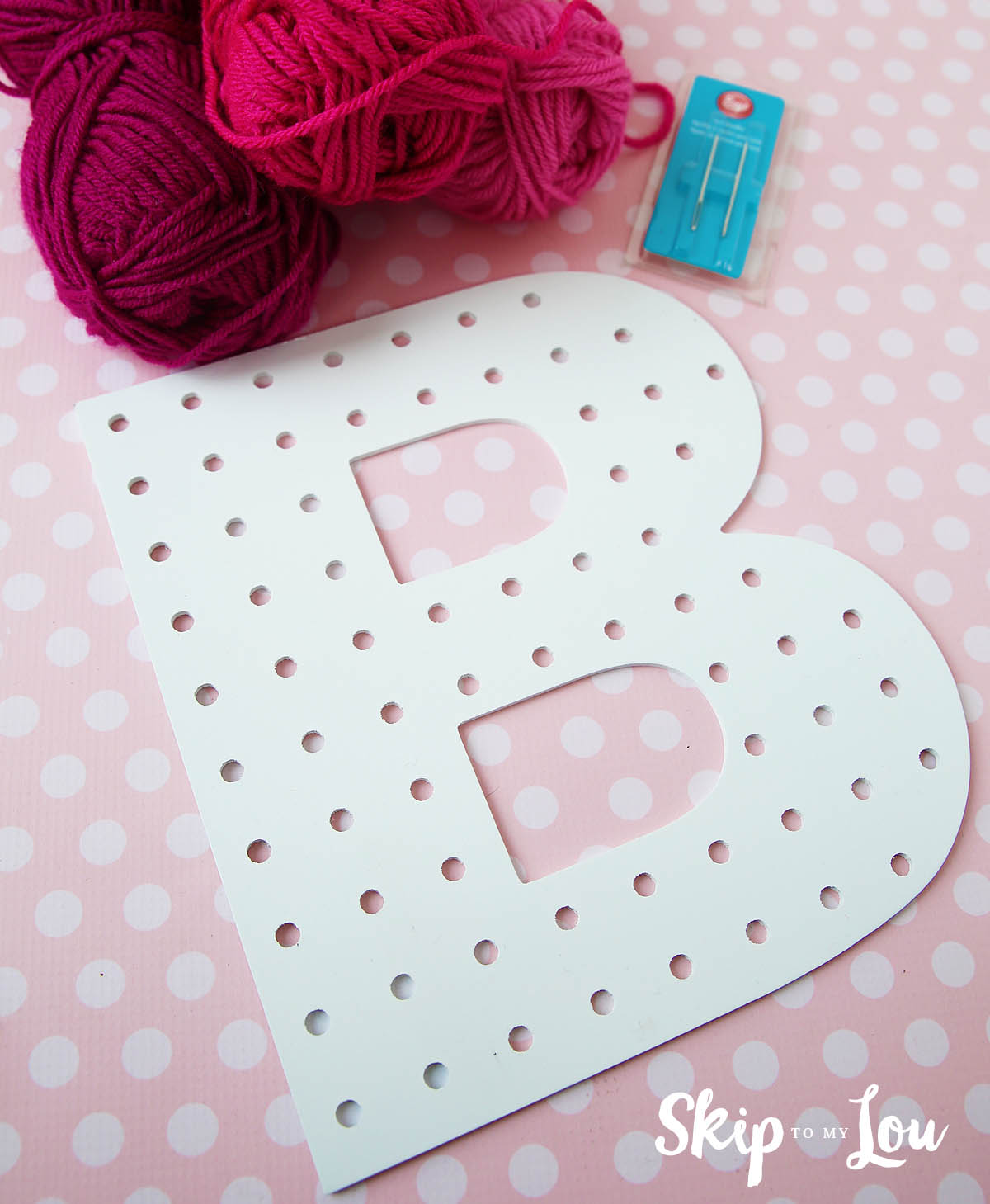 cross stitch letter supplies