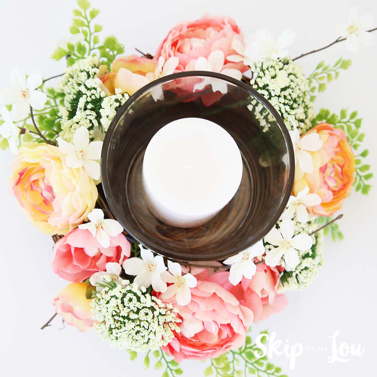 floral centerpiece idea Michaels