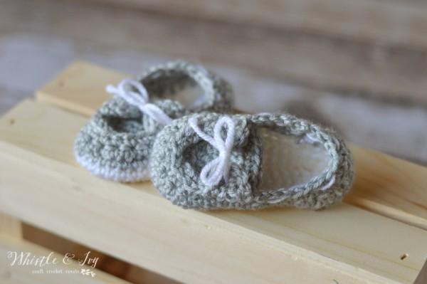 crochet boat shoes