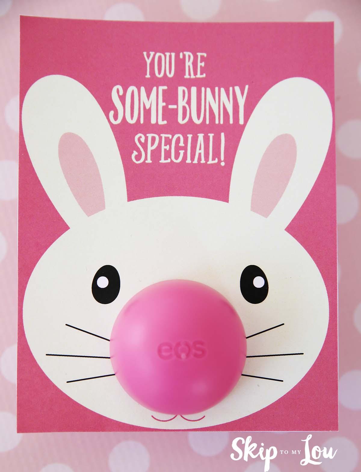 Bunny Eos Lip Balm Gift Skip To My Lou