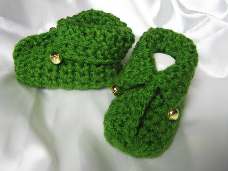 Free Crochet Pattern For Wrap Around Baby Booties : 25 Cutest Free Crochet Baby Bootie Patterns