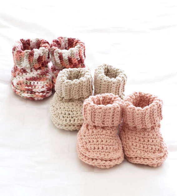 40 Cutest Free Crochet Baby Booties Patterns Fascinating Crochet Baby Booties Pattern Step By Step