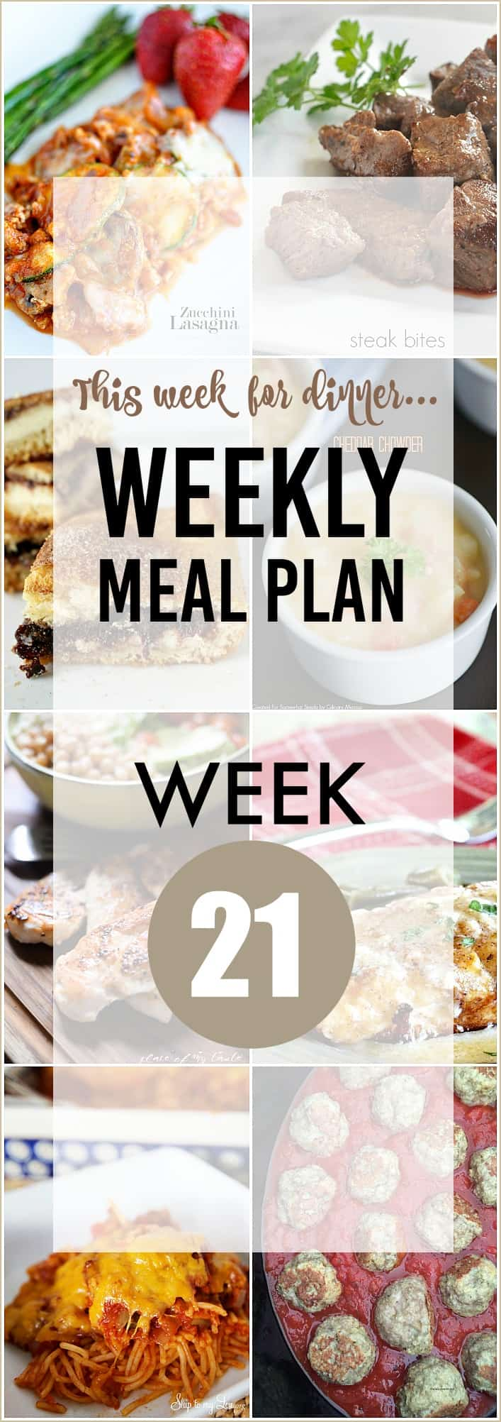 WEEKLY MEAL PLAN 21 the36thavenue