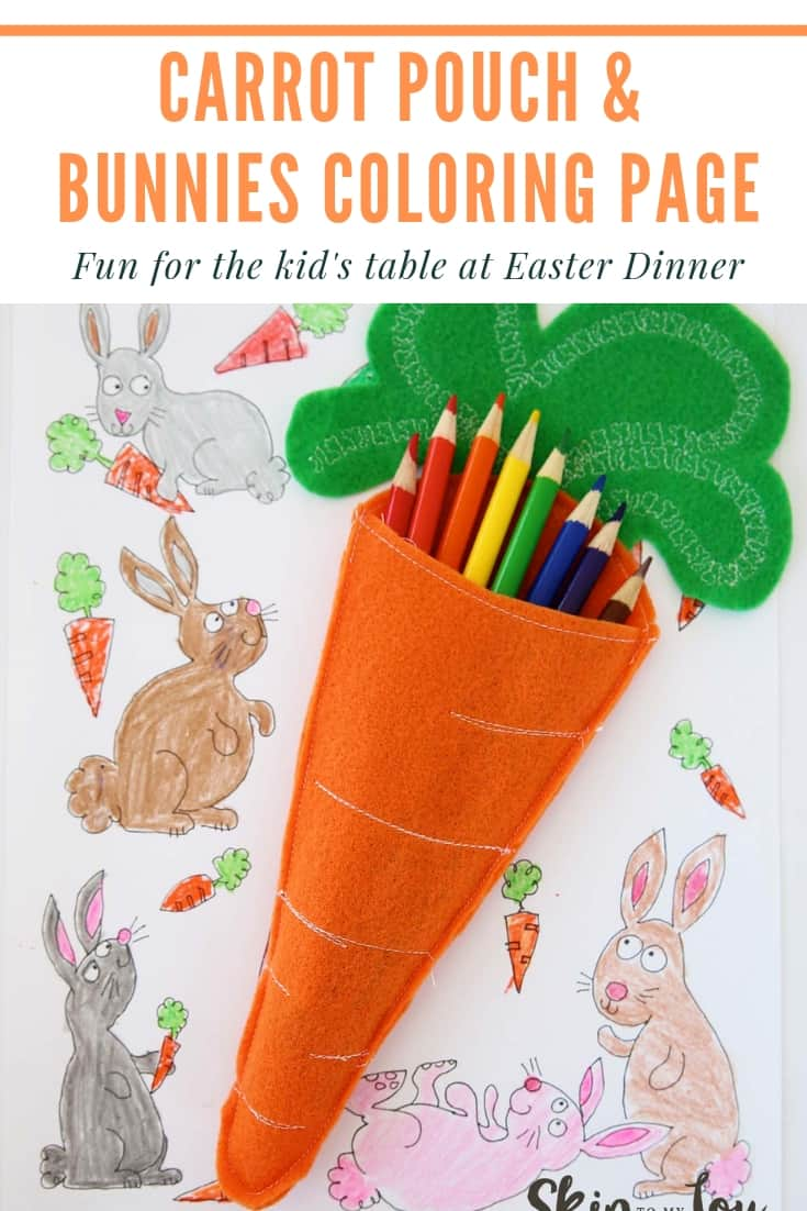 carrot and bunnies coloring page Pinterest Graphic
