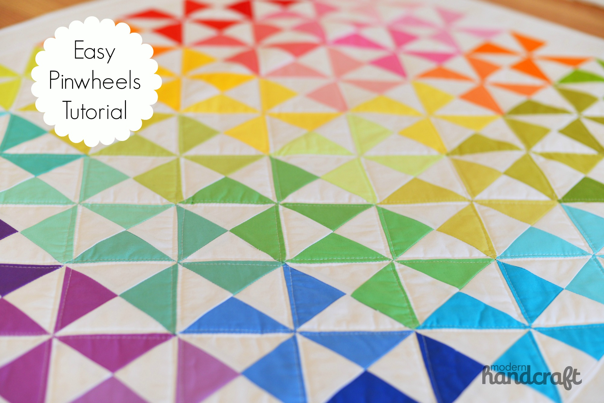 easy pinwheels quilt