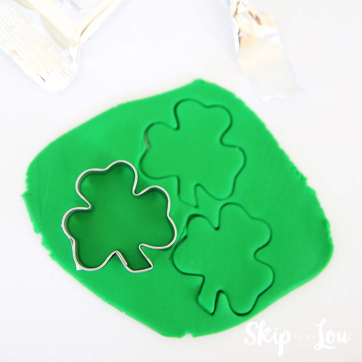 fondant shamrock supplies