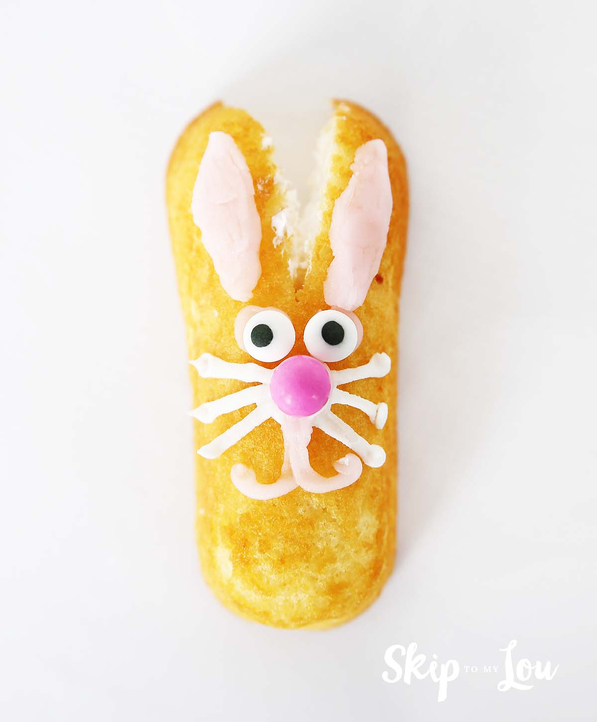 twinkie Easter bunny food craft