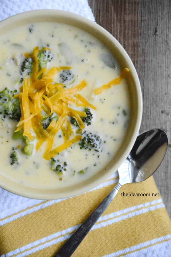 Cheddar Broccoli Soup 3