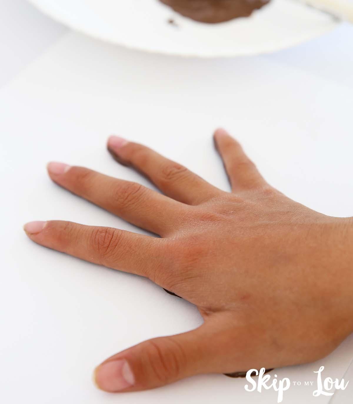 Handprint Monkey Handprint