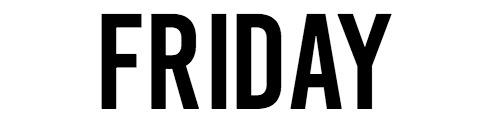 Menu Friday