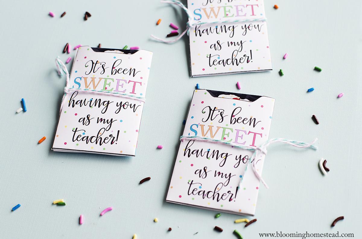 Sweet Gift Card Holder