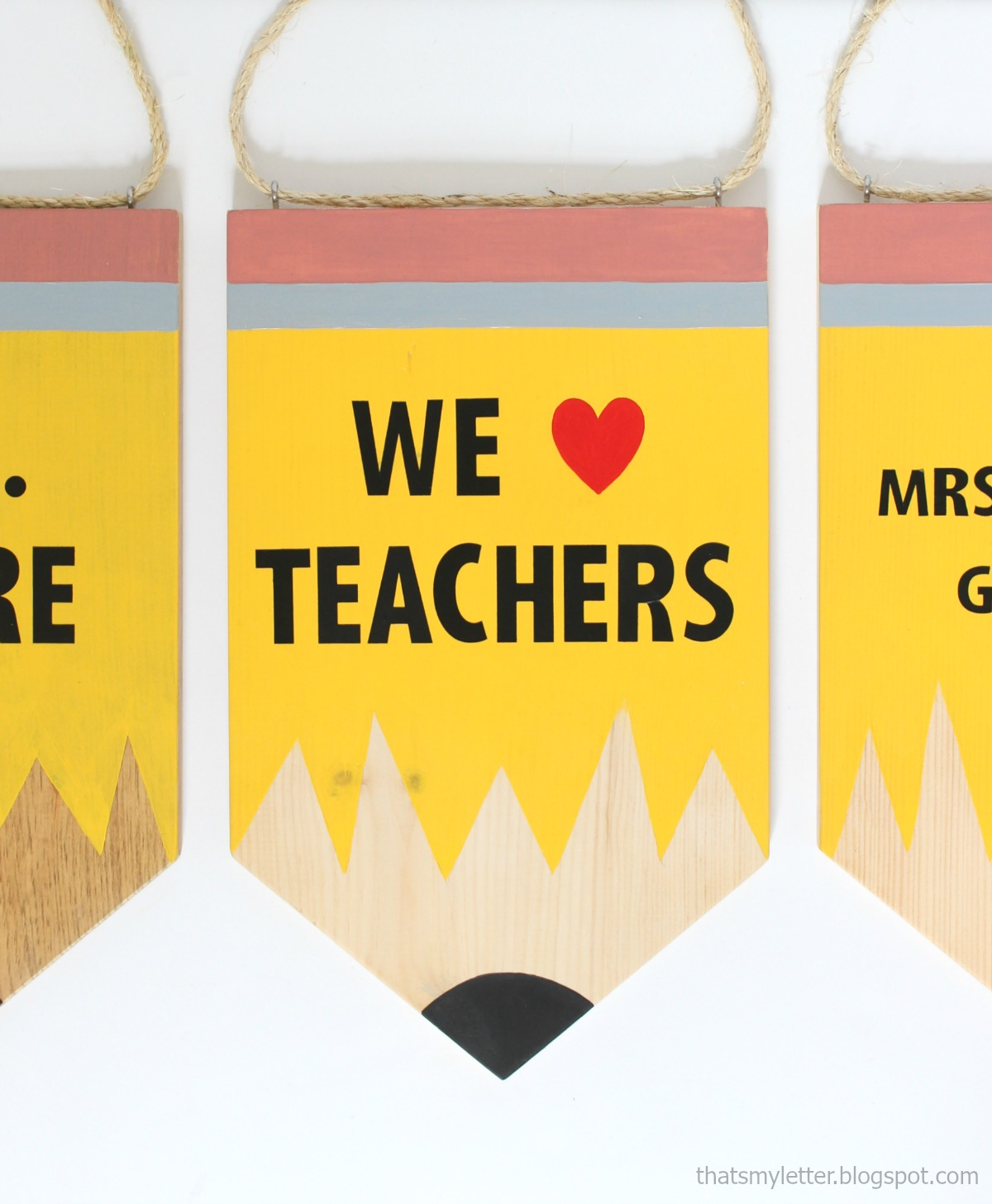 pencil banners 5