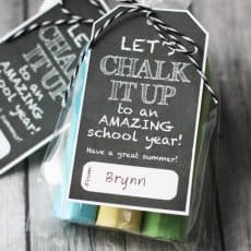 Lets chalk it up to a great year printable