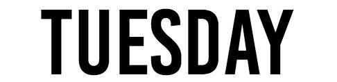 Menu Tuesday