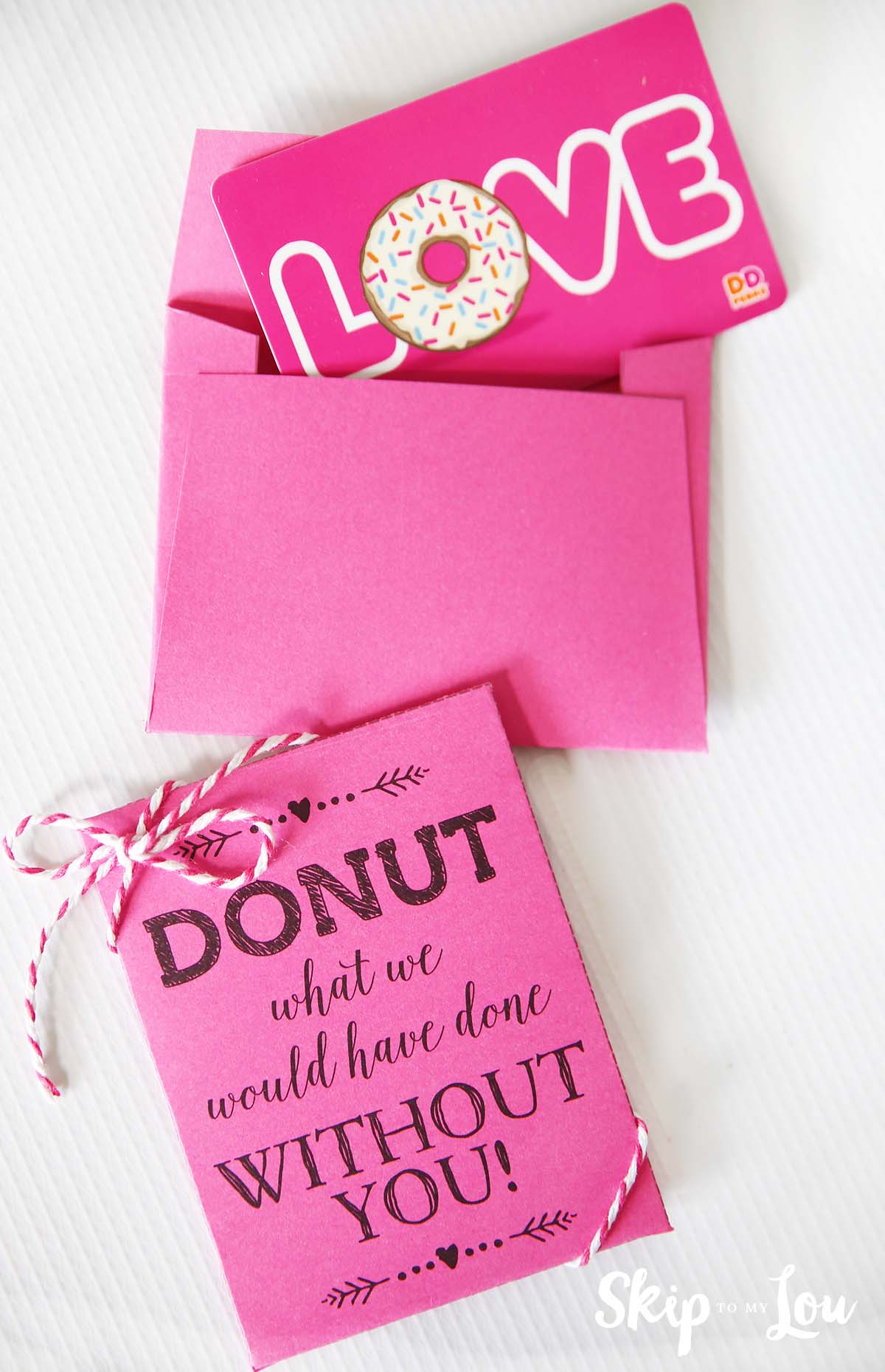 donut what i would do teacher gift