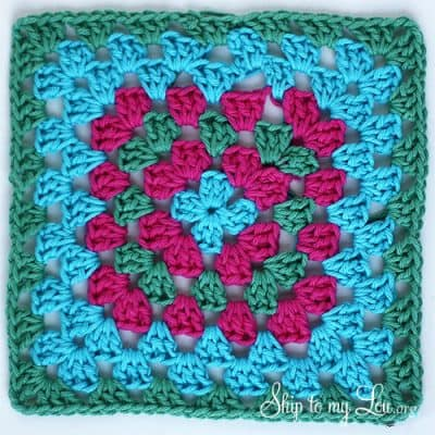 granny-square-dishcloth
