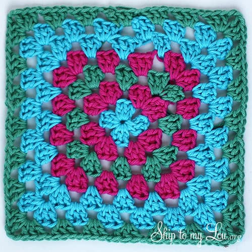 granny-square-dishcloth