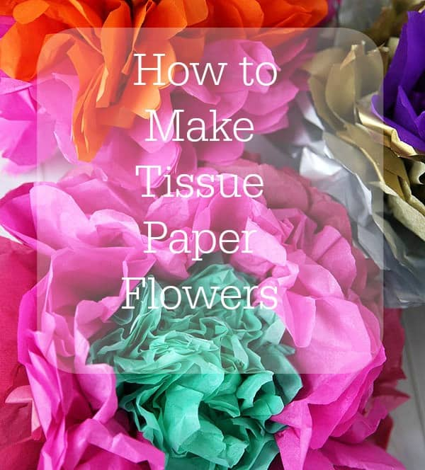How to make tissue paper flowers skip to my lou tissue paper flowers mightylinksfo