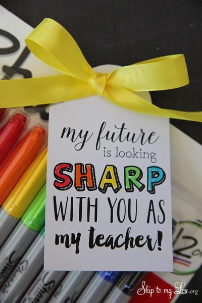 sharpie-marker-teacher-gift