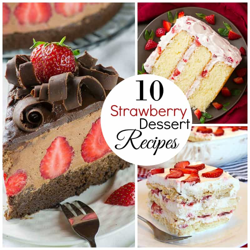 strawberry Dessert recipes