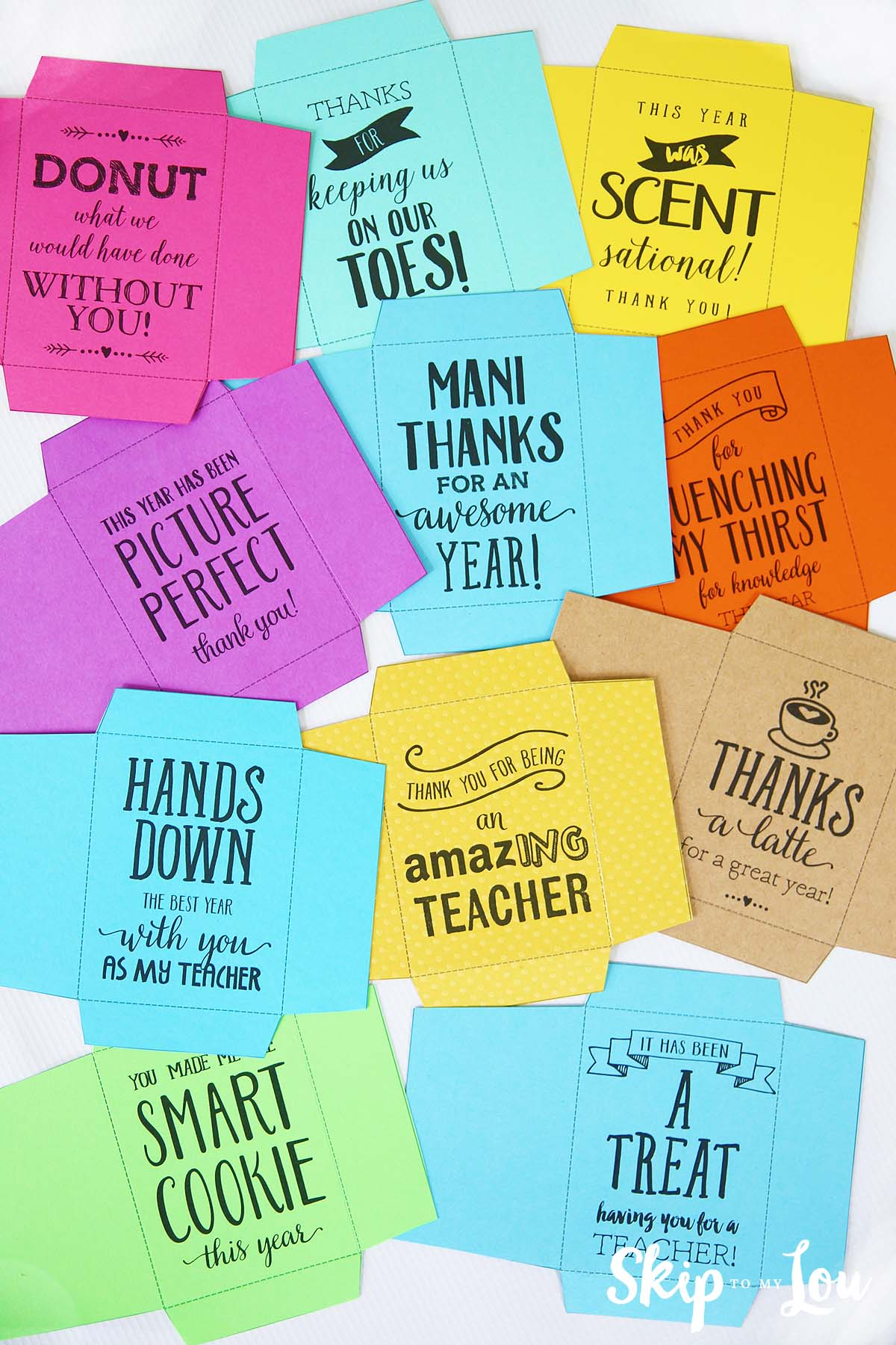 End of the year teacher gifts | Skip To My Lou