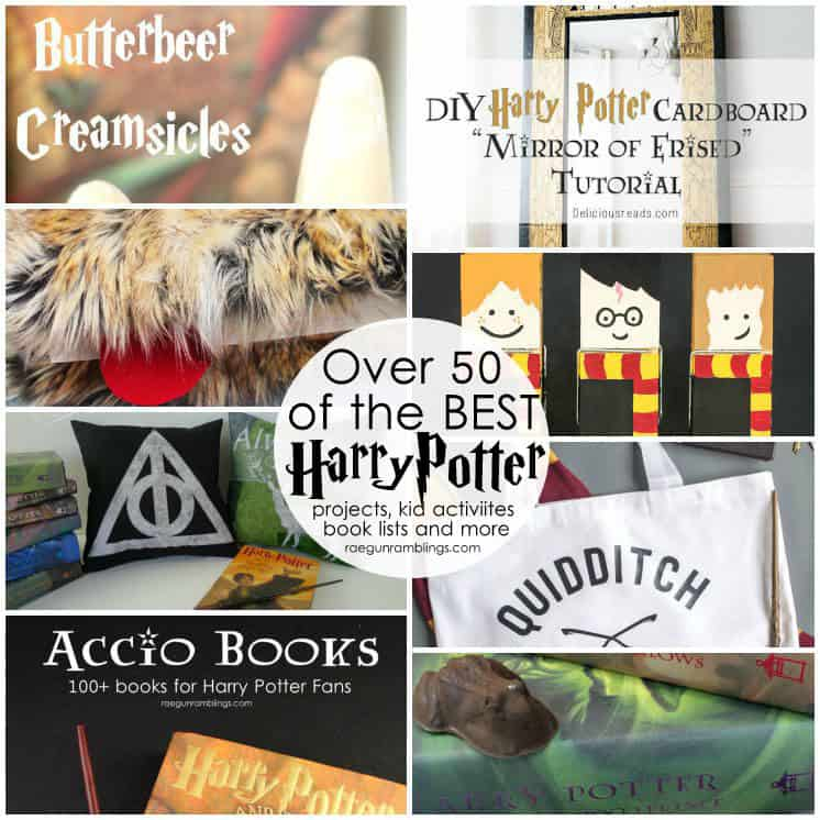 50 fantastic Harry Potter crafts, recipes, party ideas and more!