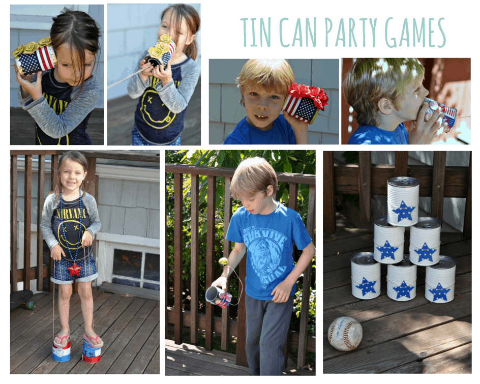 TIN CAN PARTY GAMES