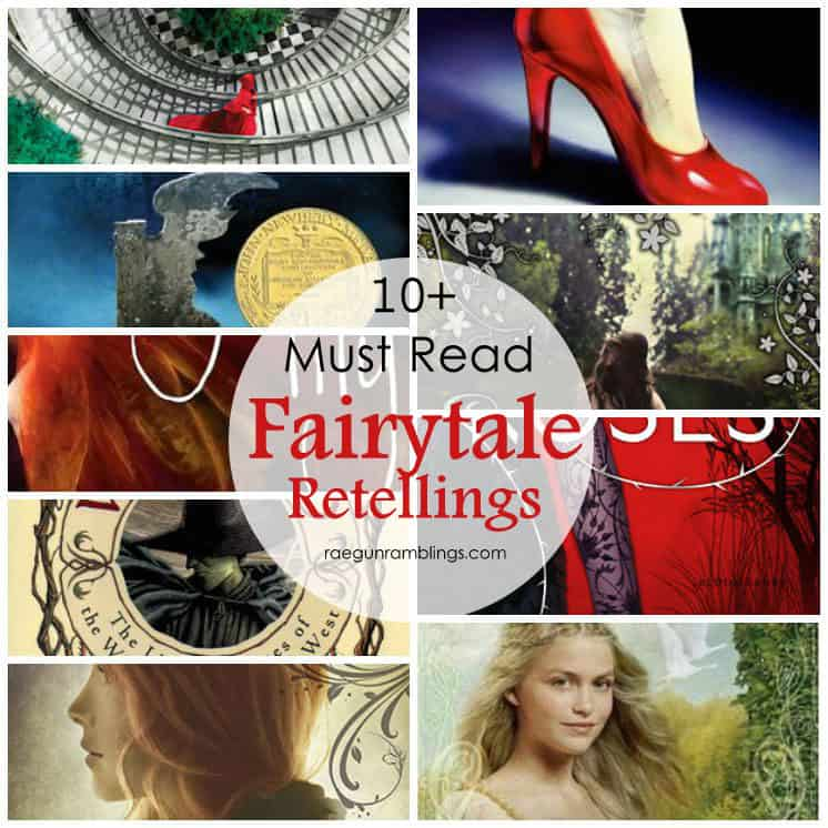 Add these to your reading list. Must read young adult fairytale retellings. Great book list.