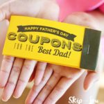 fathers day coupon book