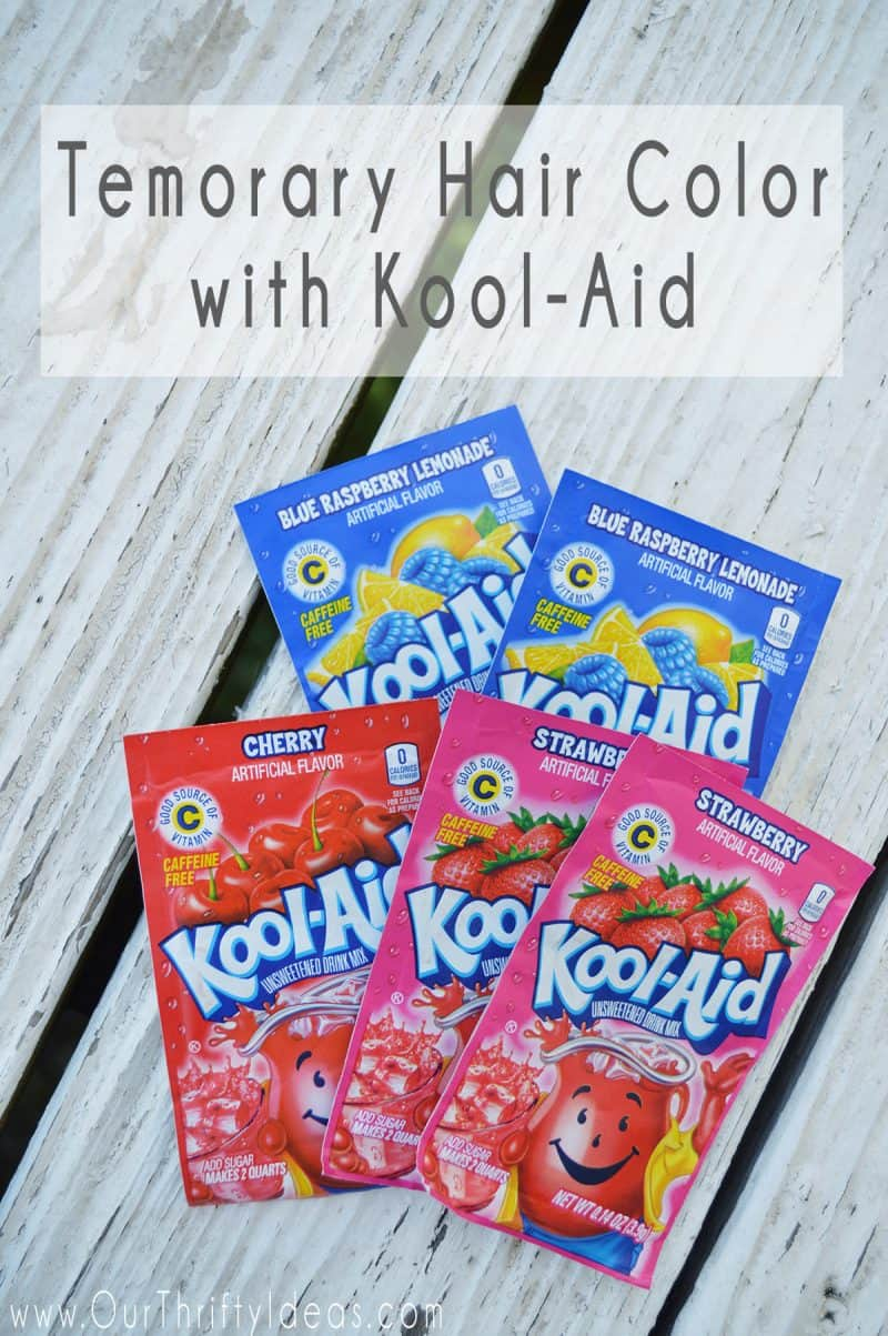 How to dye your hair with kool aid an easy way to add fun color to how to dye your hair with kool aid geenschuldenfo Image collections