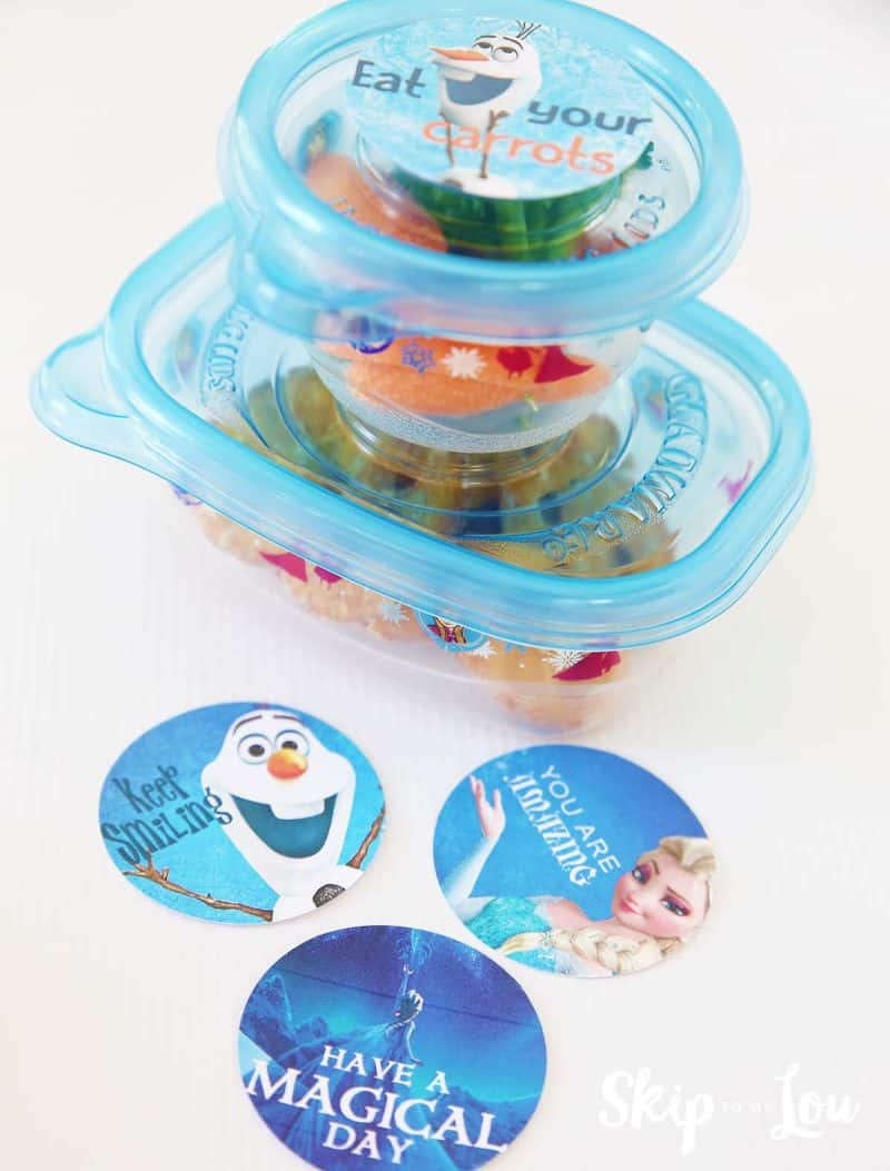 Free Frozen Lunch Box Notes | Skip To My Lou | Bloglovin\'