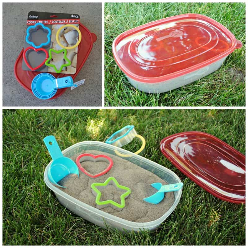Mini Sandbox fun for toddlers at thebensonstreet.com