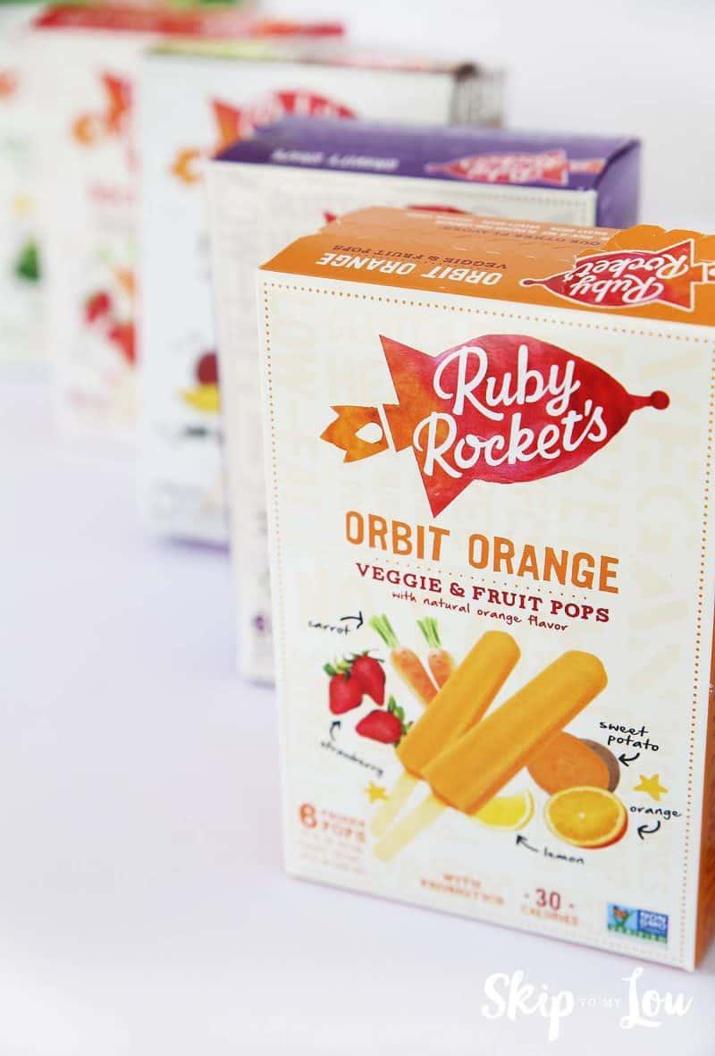 Ruby Rockest Fruit Pops