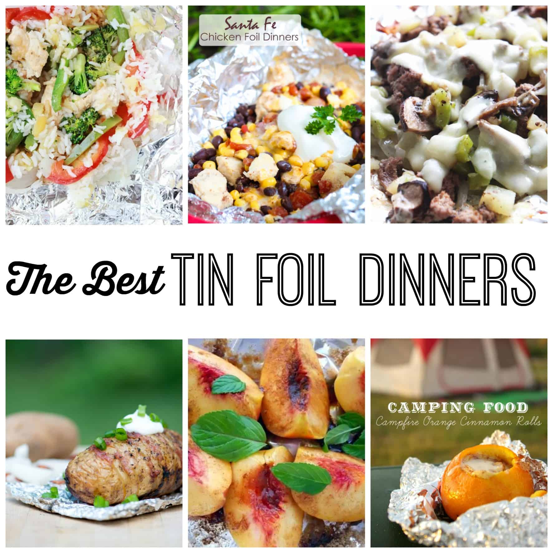 Camping Food Ideas In Foil: Tin Foil Dinners