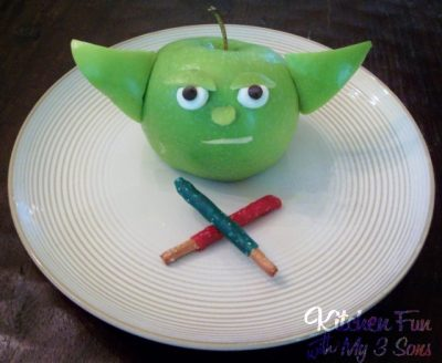 Yoda Apple snack
