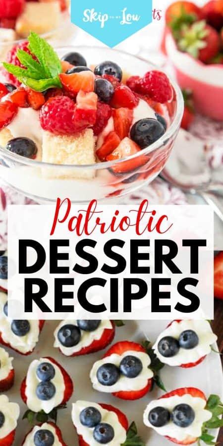 patriotic dessert recipes PIN