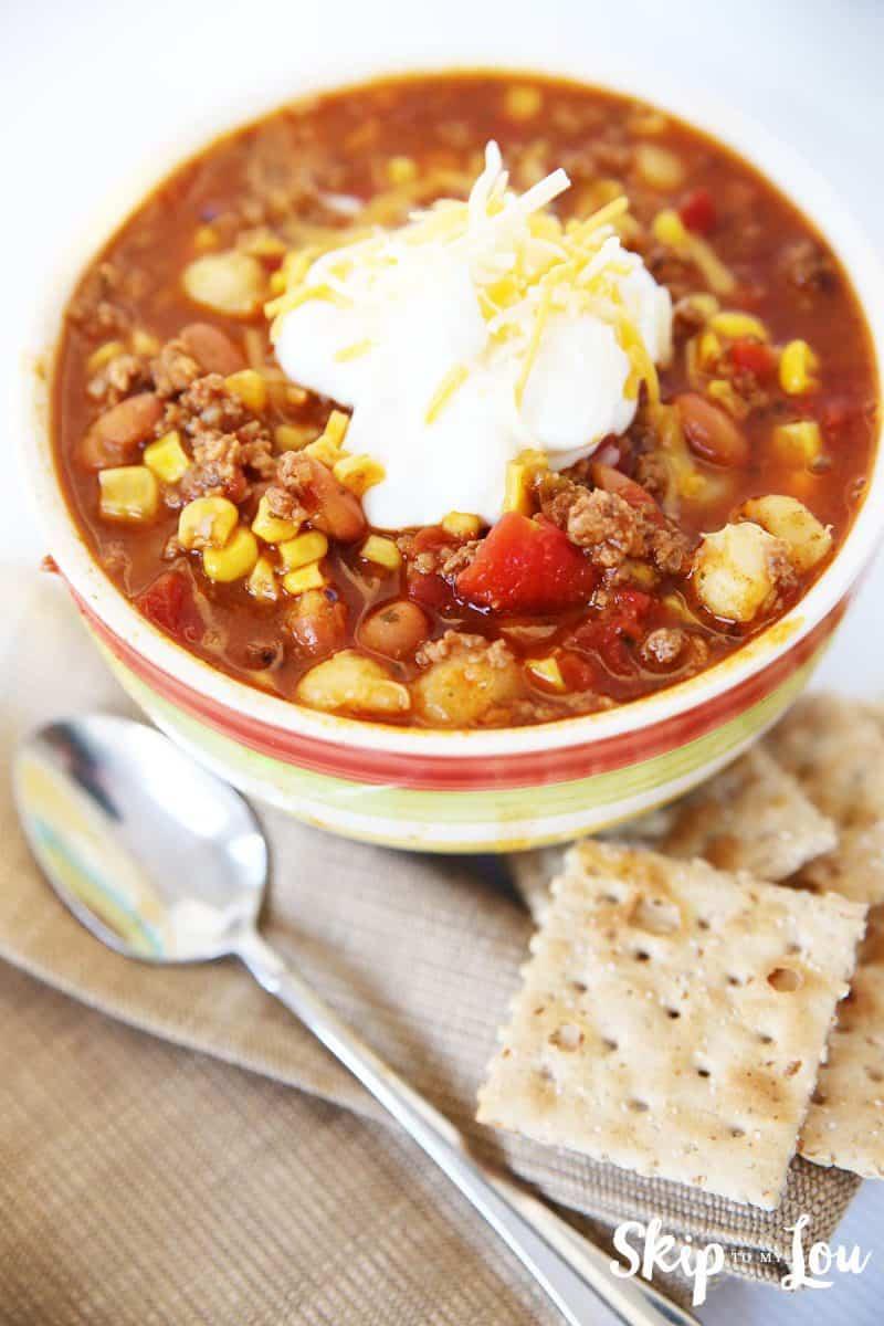 pressure-cooker-taco-soup