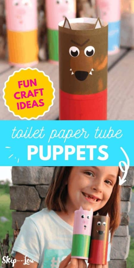 toilet paper tube puppets PIN