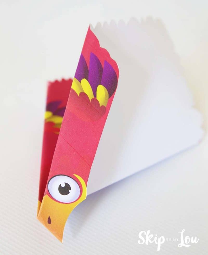 Flying paper bird instructions