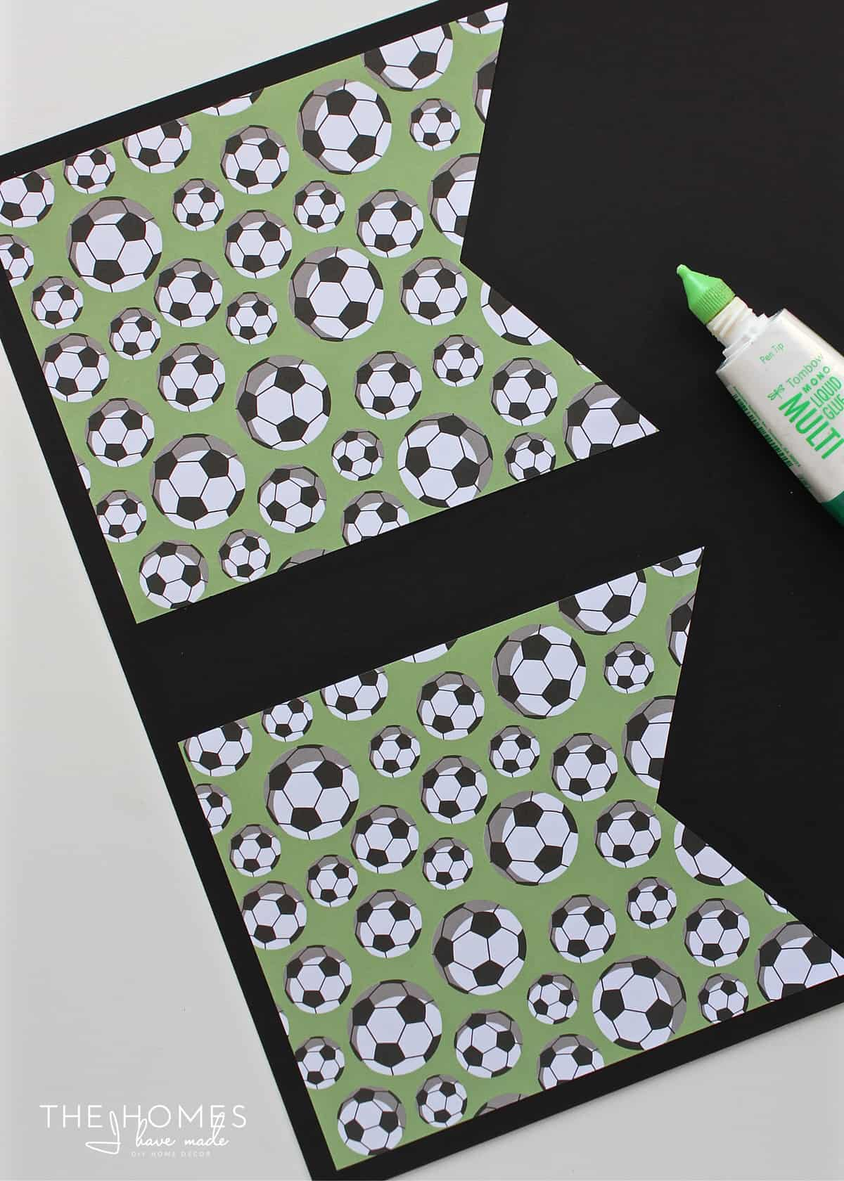 Use this FREE printable template to make a banner for any occasion, no fancy tools required!