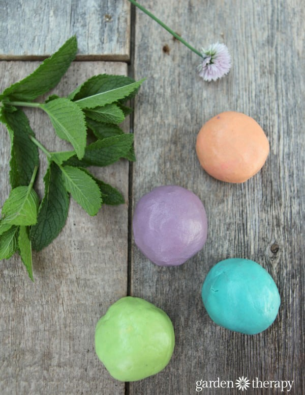 aromatherapy playdough