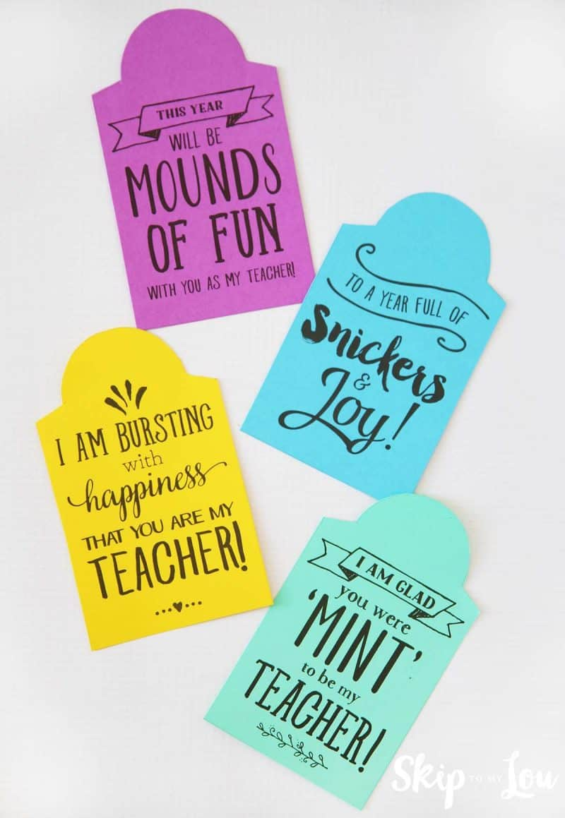 Back To School Teacher Gifts Skip To My Lou