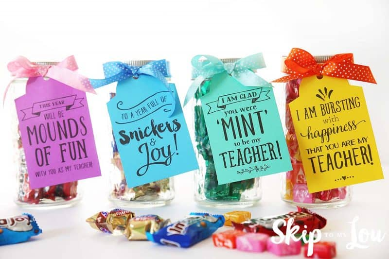 candy gram back to school teacher gifts