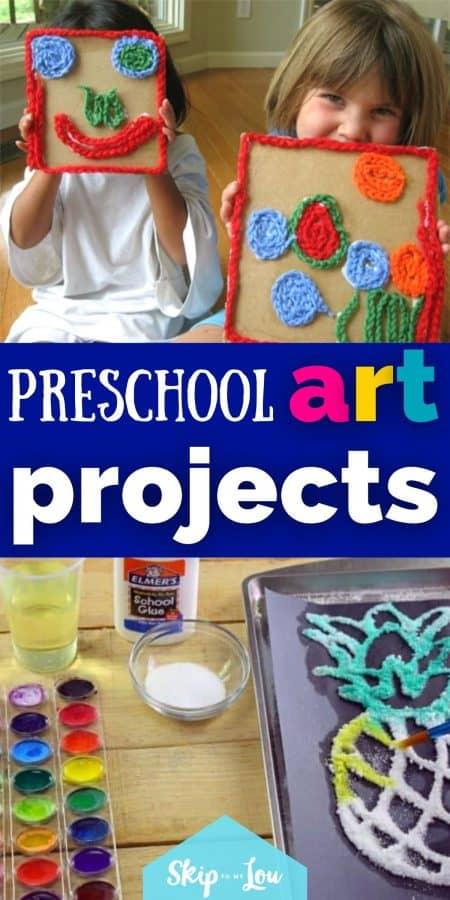 preschool art projects PIN