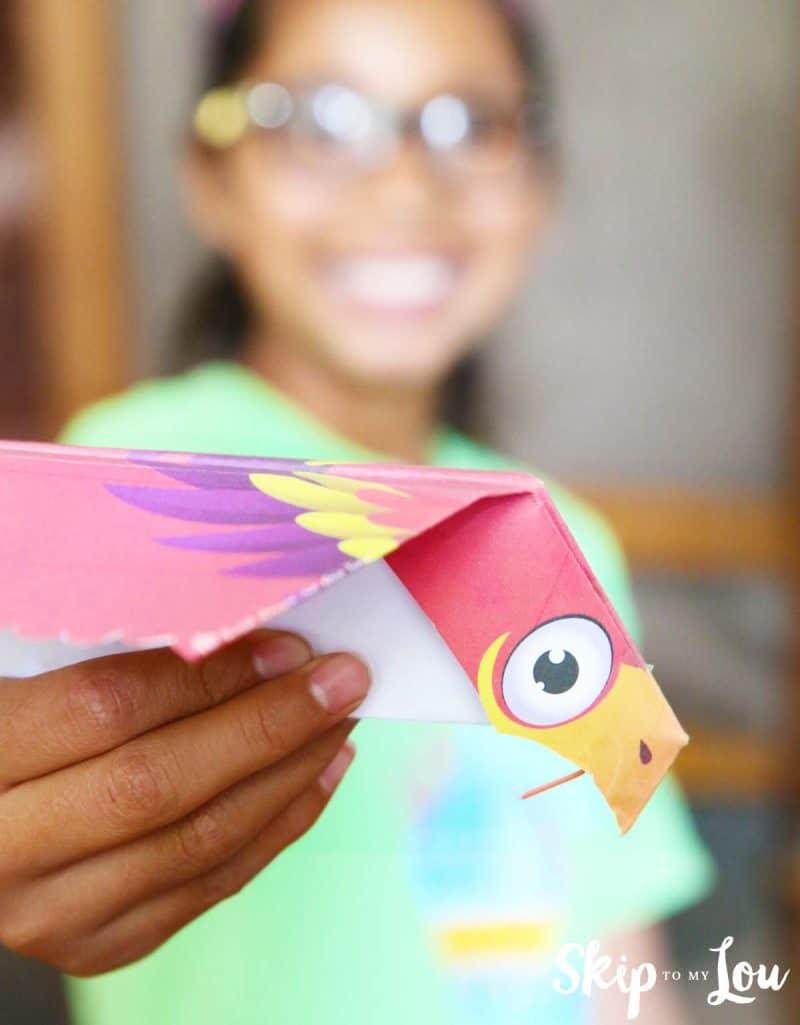 free printable flying bird